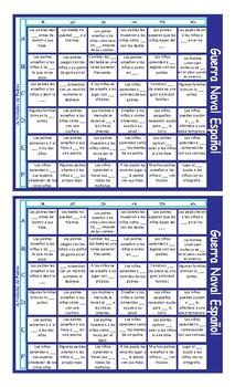 Parenting Activities Spanish Battleship Board Game