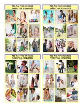 Parenting Activities Tic-Tac-Toe or Bingo