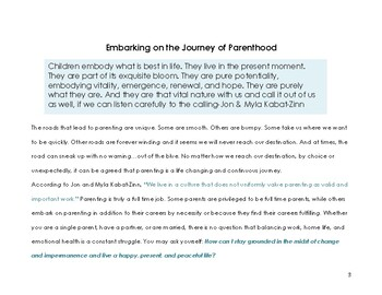 Parenting with Heart Workbook