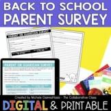 Parents Back-to-School Survey