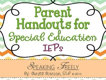 Parent's Guide to IEPs