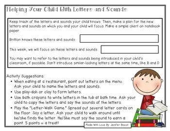 Parent's Guide to Reading: Kindergarten Edition