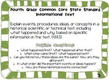 Parents Guide to the Fourth Grade Informational Text Common Core State Standards