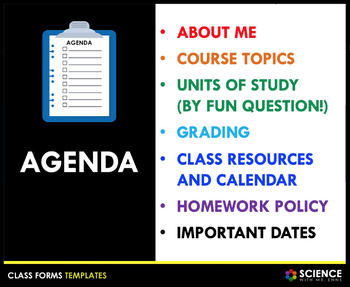 PPT - Parent Night or Curriculum Night Presentation (Editable)