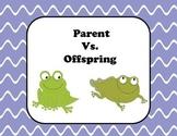 Parent Vs Offspring Venn Diagram