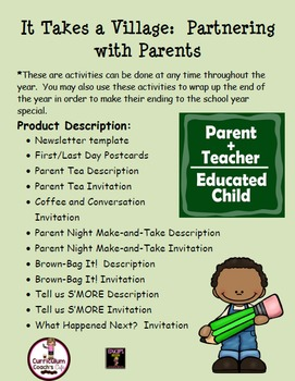 Parents as Partners Activities