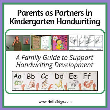 Parents as Partners in Kindergarten Handwriting: A Family Guide