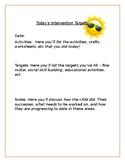 Parents daily progress tracker