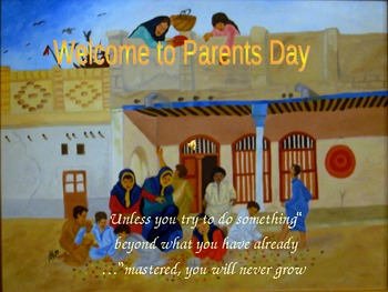 Parents day Slide Show
