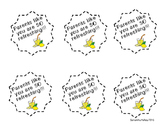 Parent Open House Gift Tag