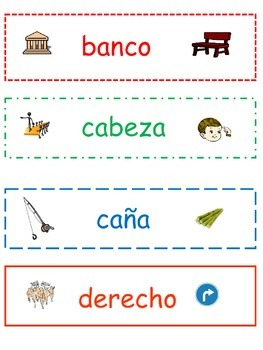 TEK 3.4B and 4.2 B: Pares de Homografos / Homographs in Spanish