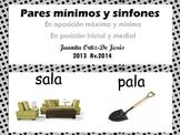 Pares mínimos  Homófonos  Español (spanish)