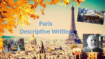 Paris - Descriptive Writing Lesson