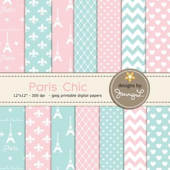 Paris Digital Paper