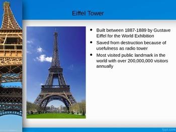 Paris: Famous Sights