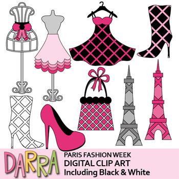 Paris Fashion Week Clip Art