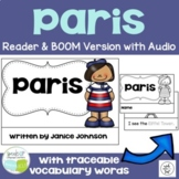 Paris, France Reader & Vocab work {English Version} ~ Simplified for Young Learn
