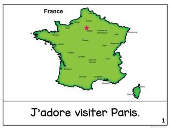 Paris, France Reader & Vocab work ~ Simplified for Language Learners