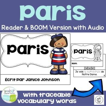 Paris, France Reader & Vocab work ~ Simplified for Languag