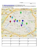 Paris Interactive Map Activity