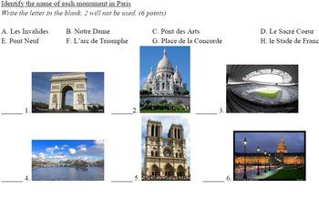 Paris Quiz (French)