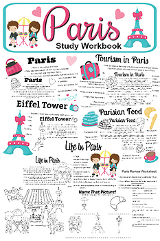 Paris Study Workbook