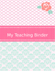 Paris Theme Teaching Binder - Editable and FREE Updates for LIFE!