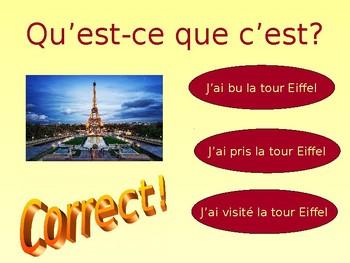 Paris / Vacations / Holidays / Past visit to Paris