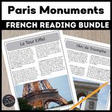Paris monuments - reading bundle