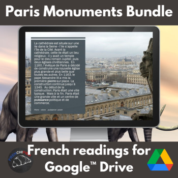 Paris monuments - reading bundle - Google drive edition