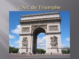 Paris monuments sights and history powerpoint