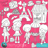 Paris travel stamps commercial use, vector graphics, images - DS718