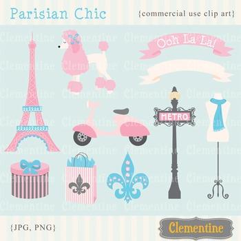 Parisian Chic clip art