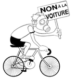 Parisians Riding Bicycles (extract)