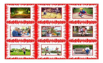 Park Activities Cards