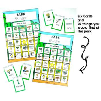 Park Bingo Game