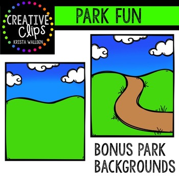 Park Fun {Creative Clips Digital Clipart}
