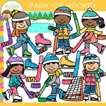 Park Ice Hockey Clip Art
