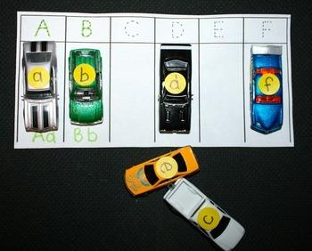 Park It!  An Alphabet Matching Game