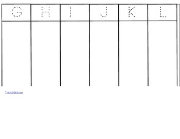 "Free Alphabet Activities: ""Park It!""  An Alphabet Matching Game"