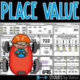 Place Value Centers, Games & Practice Pages