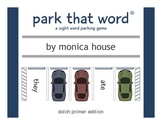 Park That Word© – A Sight Word Parking Lot Game – Dolch Primer Edition