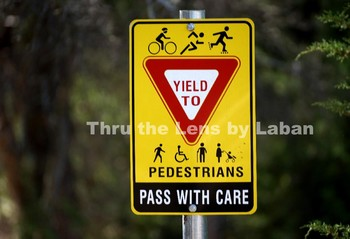 Share the Path Yield Sign Stock Photo #44