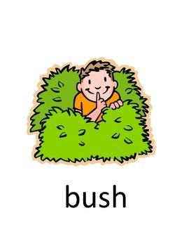 Park Vocabulary Flash Cards