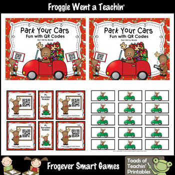 Literacy Center--Park Your Cars Fun with QR Codes (First 100 Fry Words)