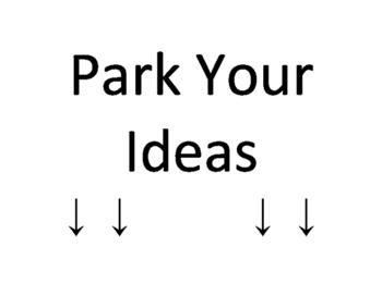 Park Your Ideas (Cars + Parking Bulletin Board)