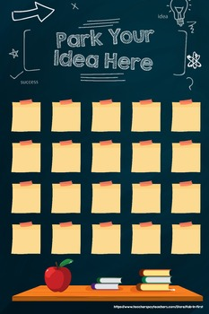 Park Your Ideas Digital Anchor Chart