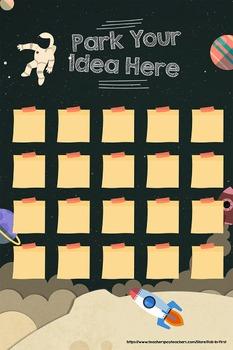 Park Your Ideas Digital Anchor Chart (Space Edition)