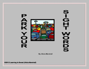 Park Your Sight Words