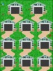 Parking Cars Dividing by 9 File Folder Game ~ Division Act